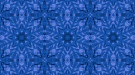 narożnik : Abstract looped blue background. 3d render Wideo