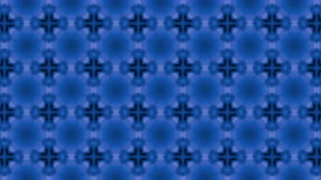 screen saver : Abstract looped blue background. 3d render Stock Footage