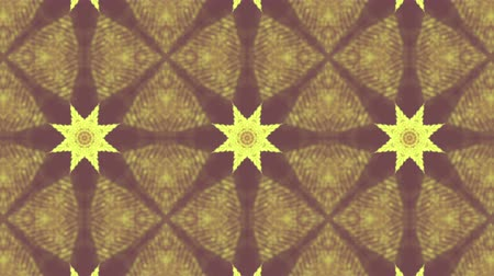 three dimensional : Yellow Beige Kaleidoscope Background. abstract. 3d render
