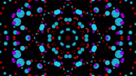 multicolorido : Multicolored kaleidoscope background. looped. 3d rendering