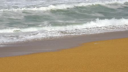 Video of Sand Atlantic Beach with ocean surf