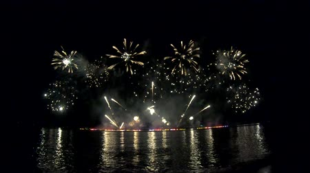 Annual beautiful fireworks in the Pattaya International fireworks 2019 event have many fireworks from many country to show beautiful fireworks at Pattaya beach in Thailand.