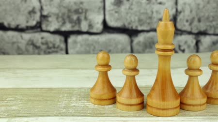 usual : Chess white kings and pawns