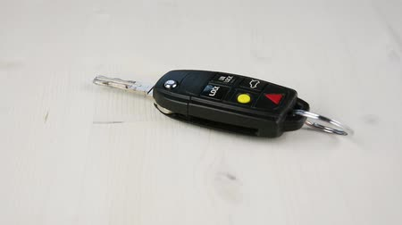 Dropping Car Keys on the Desk