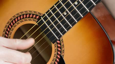 Classical guitar finger picking