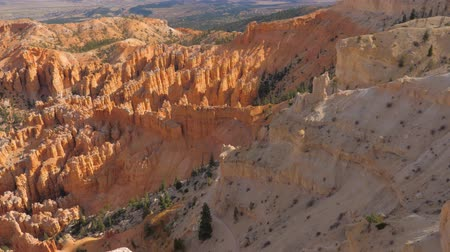 fennsík : Top View In Motion On Sand Mountain Red Orange Bryce Canyon National Park