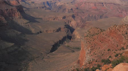 к юго западу : A Beautiful View Of The Grand Canyon In Arizona, USA Стоковые видеозаписи