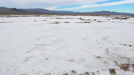dead valley : Pan Salt Valley In The Desert On The Place Of The Dried-Up Sea Or Lake