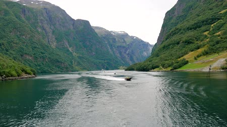 north bay : Sail On The Beautiful Bay Of The Norwegian Fjords With Crystal Clear Water
