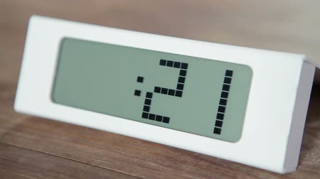 timecode : One minute electronic digital timer