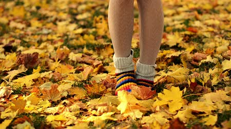 sock : Autumn Girl