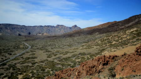 sopečný : Picturesque mountain landscape of Tenerife. wonderful active holiday in Teide Park