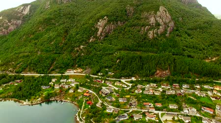 Скандинавия : Norway. beautiful landscape of Norway. Fishermans Village of Norway