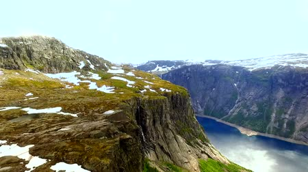 Скандинавия : Norway. beautiful landscape of Norway. Fjord