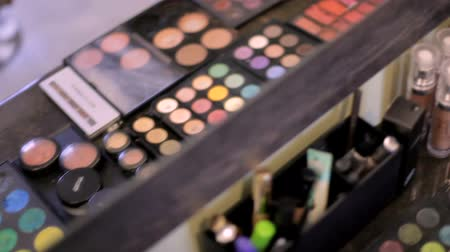 változatos : Bright cosmetics in the make-up salon
