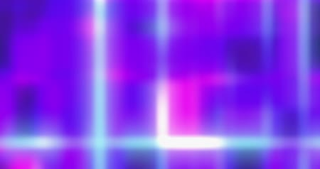 Blurred wall of lights - colorful party, disco, nightclub and celebration background - seamless loop - digitally generated - ProRes