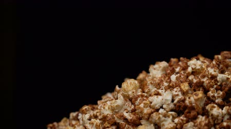 pop corn : popcorn rotate motion background. Filmati Stock