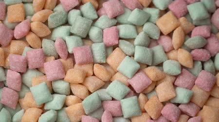 lolly : Sweet candy pads Mixed of Snack Sugar roteren achtergrond