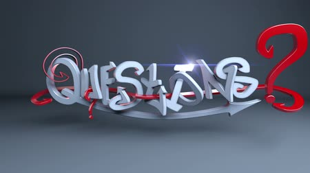 sorular : 3d Graffiti text Questions.
