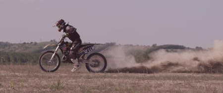 talaj : Dirt bike it started. Slow motion.