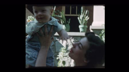 cherish : 1953 Glamorous mother and grandmother loving baby boy