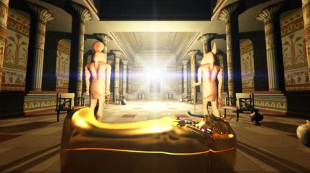 egyptian tombs Stock Footage