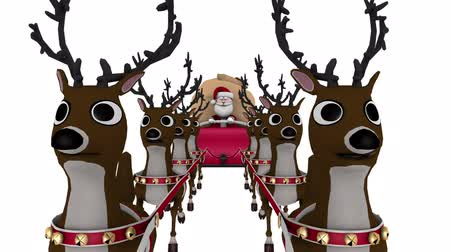 donner : Santa Claus and reindeer