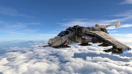 forgatás : 3D CG rendering of fighter aircraft