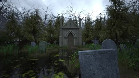 могильная плита : 3D CG rendering of Grave