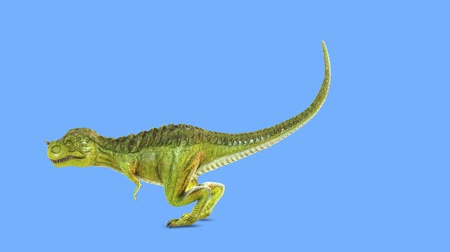 extinct species : 3D CG rendering of Dinosaur