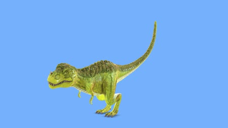 espécies : 3D CG rendering of Dinosaur