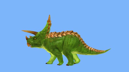 絶滅寸前の : 3D CG rendering of Dinosaur