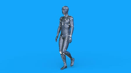traje : 3D CG rendering of cyber man