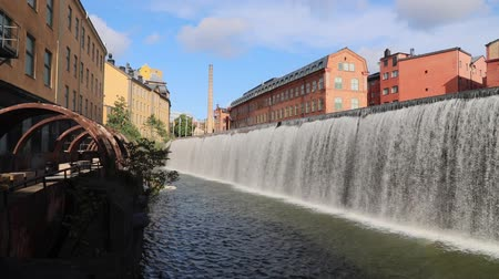 norrkoping : Norrkoping town in Sweden. Former industrial landscape - revitalized architecture.