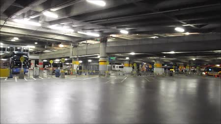 Basement Parking And Public Bus Terminal For Travelers