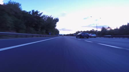 caravan : Vehicles Traveling in Timelapse Mode, Moving Cars First Person Drive