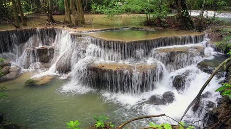papel de parede : Beautiful waterfall in Thailand