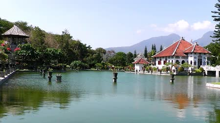 danu : In the Water Palace. The island of Bali. Indonesia. Stock Footage