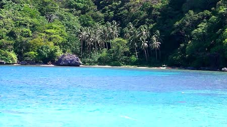 Landscape of tropical island. Palawan island. Philippines.
