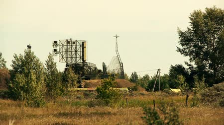 vyzvědač : military radar station