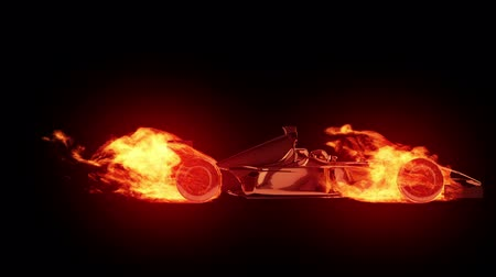 гонка : Fire race car