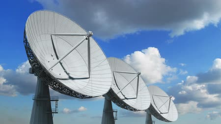 dish : Array of satellite dishes