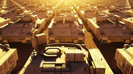 irak : Tanques Militares, Seamless Loop