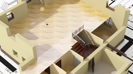 interior : Construction of residential house