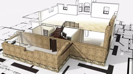 bina : Construction of residential house