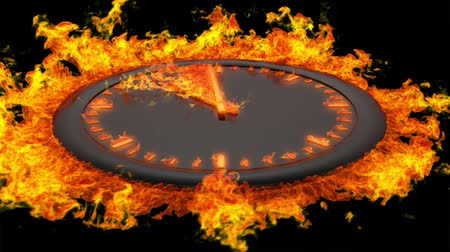 nyíl : Burning clock