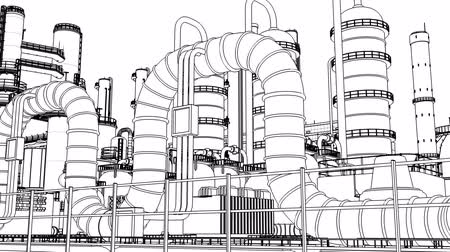 plants : Chemical Plant Stock Footage