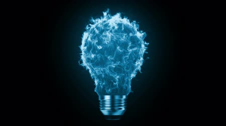de brainstorming : Flaming bulb