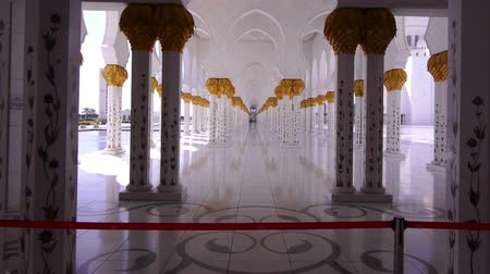 kamień : Interior of Sheikh Zayed Mosque