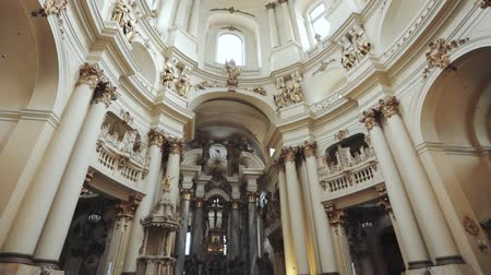 guildhall : Architecture Dominican Church in Ukraine city Lvov